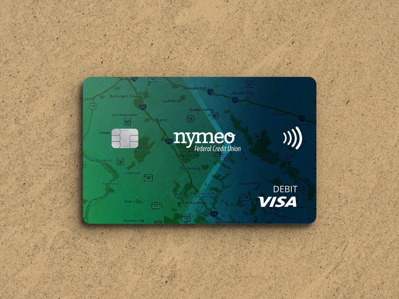 Nymeo Visa Debit Card