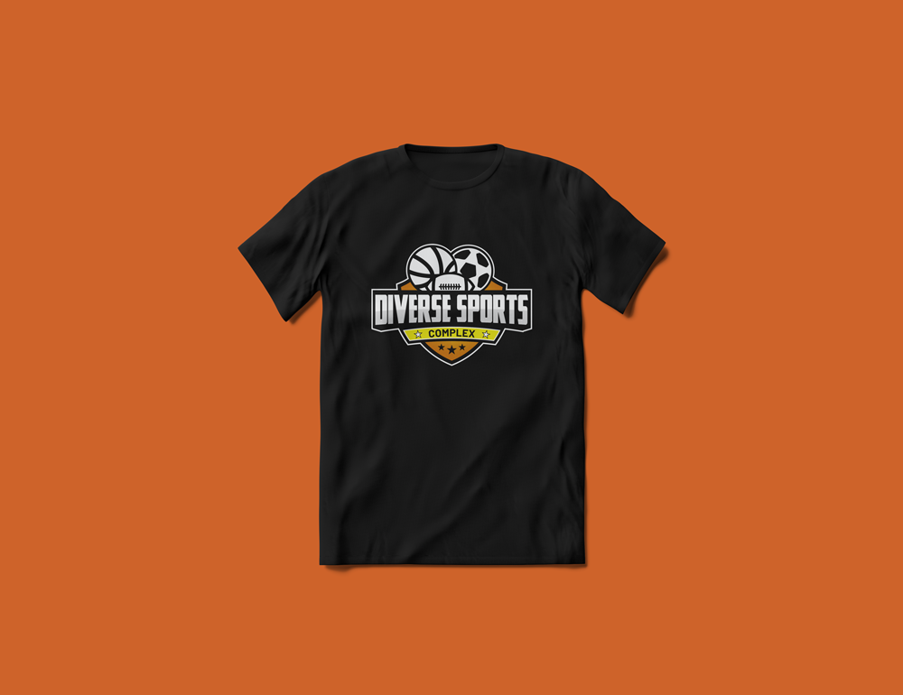Diverse Sports Complex Logo Tee